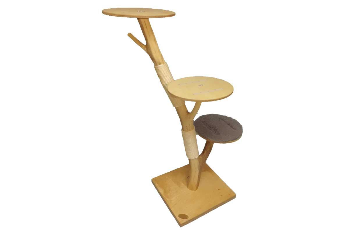 kratzbaum 3 ovale liegefl chen drybed katzkratz. Black Bedroom Furniture Sets. Home Design Ideas